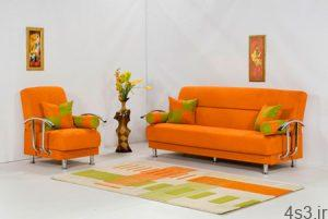 نکاتی برای استفاده از رنگ نارنجی در دکوراسیون سایت 4s3.ir