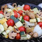 نکاتی برای پختن و کباب کردن سبزیجات سایت 4s3.ir
