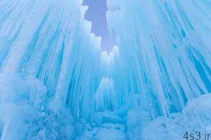 پارک یخی زمستانی در کانادا، از جالب ترین جاذبه های یخی در جهان سایت 4s3.ir