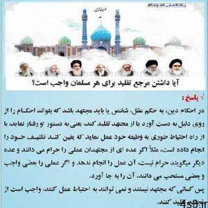 چرا داشتن مرجع تقلید برای هر مسلمان واجب است؟ سایت 4s3.ir
