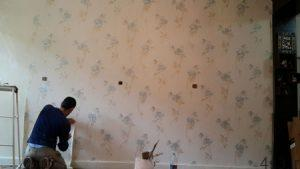 چگونه کاغذ دیواری در خانه اجاره ای، استفاده کنم؟ سایت 4s3.ir