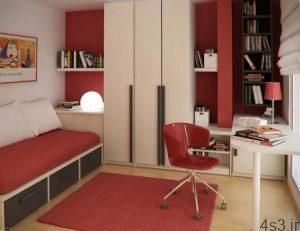 چیدمان اتاق خواب یک دانش آموز سایت 4s3.ir