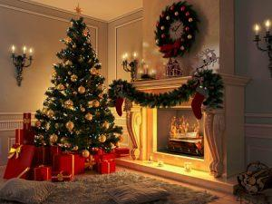 چیدمان خانه در کریسمس سایت 4s3.ir