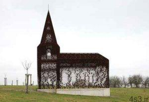 کلیسای شفاف، یکی از عجیب ترین کلیساهای جهان (+تصاویر) سایت 4s3.ir