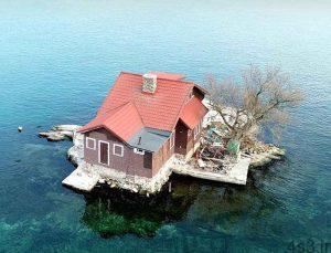 کوچک ترین جزیره مسکونی در دنیا سایت 4s3.ir