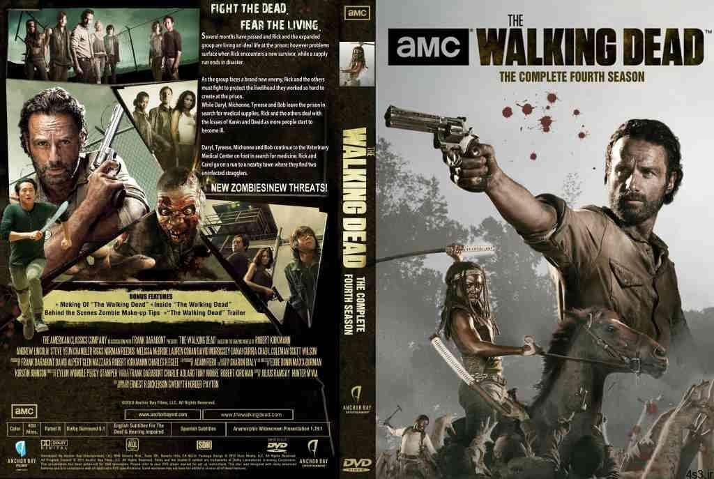 cover serial The Walking Dead 4s3.ir 6 - سریال مردگان متحرک The Walking Dead  دوبله فارسی  فصل دوم قسمت ۶