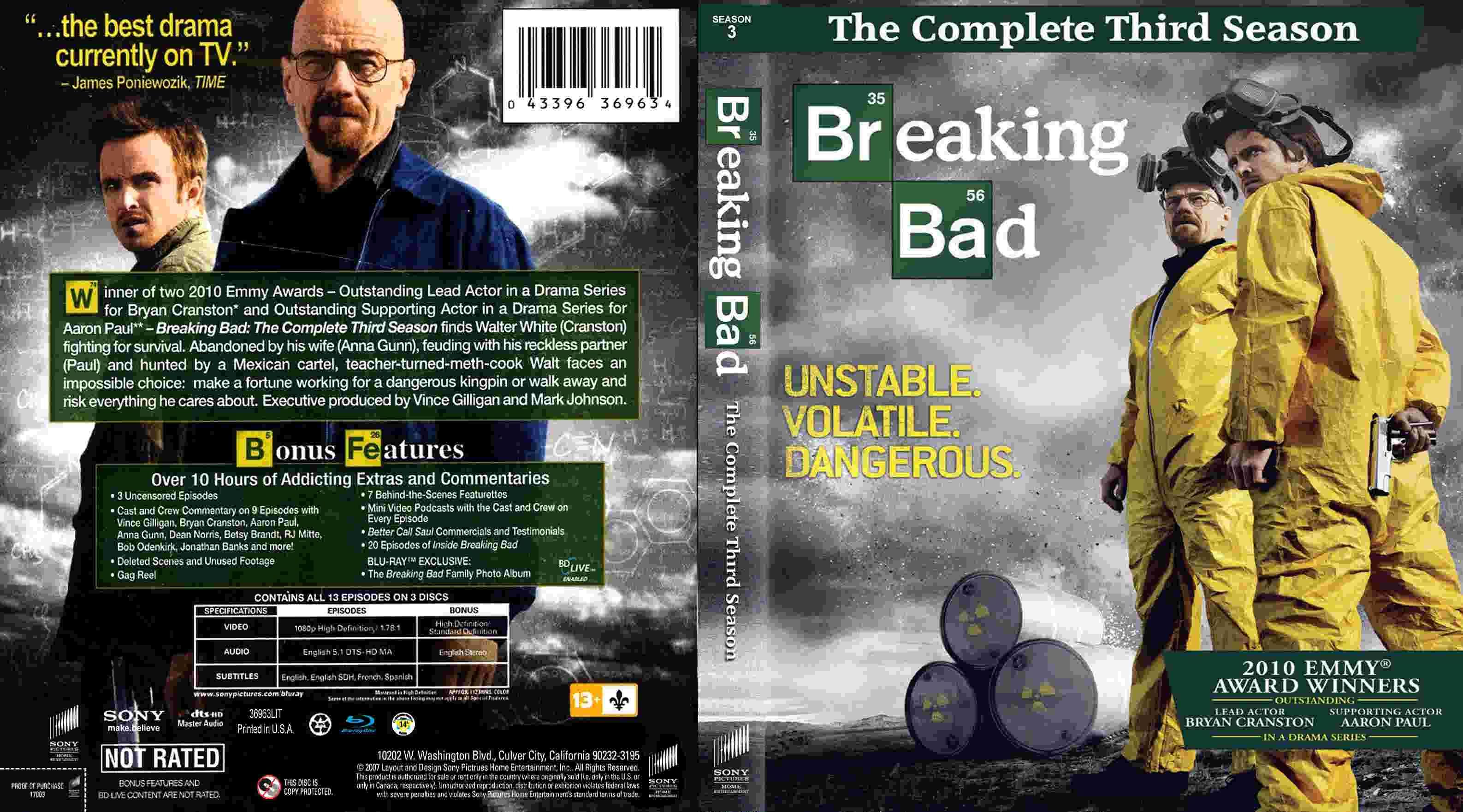 cover serial breaking bad3 - سریال بریکینگ بد Breaking Bad فصل پنجم با دوبله فارسی قسمت ۳
