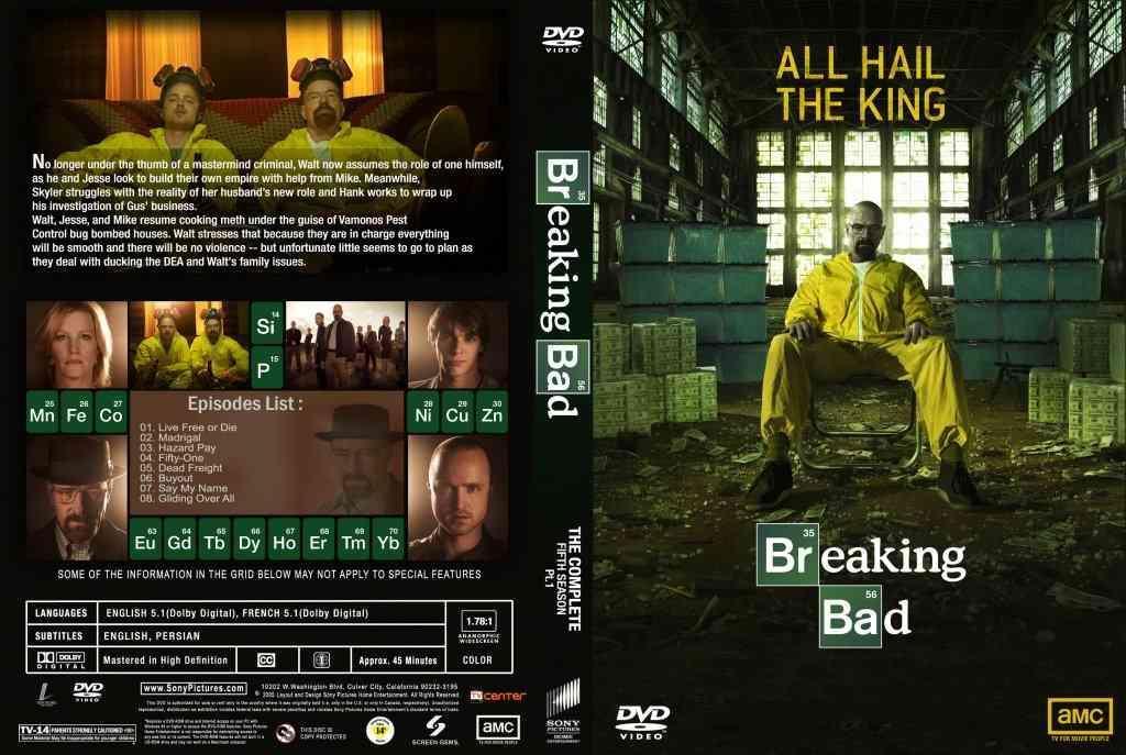 cover serial breaking bad5 - سریال بریکینگ بد Breaking Bad فصل پنجم با دوبله فارسی قسمت ۳