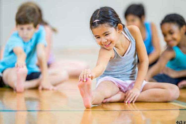 تاثیر ورزش بر ذهن کودکان سایت 4s3.ir