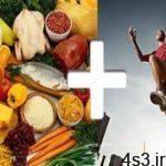 سه ماده غذایی مفید برای ورزشکاران سایت 4s3.ir