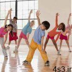 ورزش برای کودکان ضروری است. سایت 4s3.ir