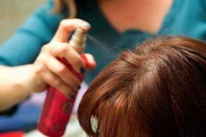 اسپری مو باعث ریزش موها میشود؟ سایت 4s3.ir
