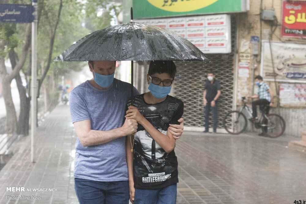 تداوم رگبار باران در برخی استانها تا شنبه آینده سایت 4s3.ir