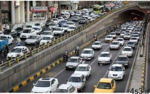 ترافیک سنگین در ۹ معبر بزرگراهی پایتخت سایت 4s3.ir