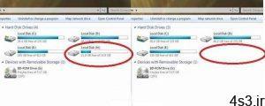 ترفندهای کامپیوتری : ترفندی برای مخفی کردن درایوها در Windows Explorer سایت 4s3.ir