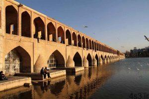 دهانههای زیرین سی و سه پل اصفهان برای تردد مسدود شد سایت 4s3.ir