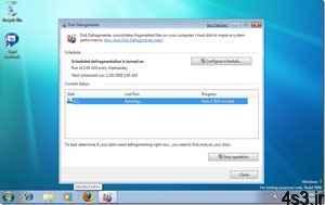ترفندهای کامپیوتری : زمانبندی اتوماتیک عملیات Defragment در ویندوز 7 سایت 4s3.ir