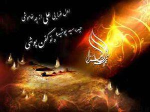 شعر شهادت حضرت فاطمه (س) سایت 4s3.ir