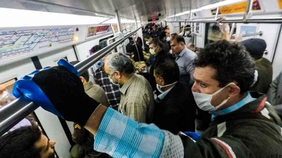 مدیرعامل مترو: ۹۵ درصد مسافران ماسک میزنند سایت 4s3.ir