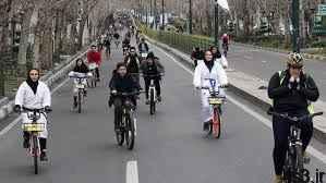 ممنوعیت دوچرخهسواری بانوان در مشهد! سایت 4s3.ir
