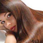 موهای صاف بدون استفاده از اتوی مو سایت 4s3.ir
