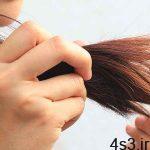 موهای صاف بیشتر گره میخورند سایت 4s3.ir