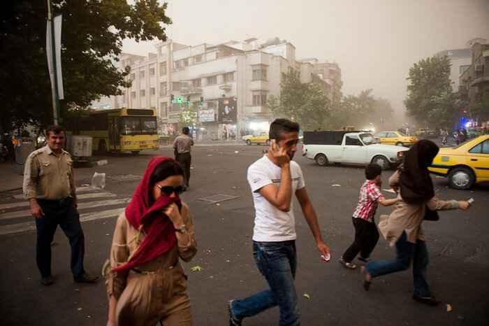وزش باد شدید در جنوب استان تهران پیشبینی میشود سایت 4s3.ir