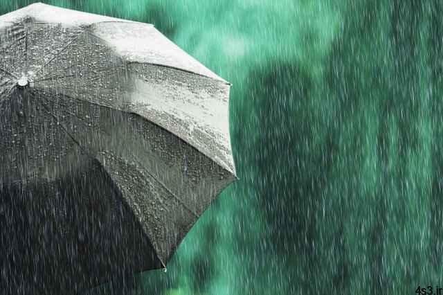 وقوع رگبار پراکنده باران در برخی مناطق کشور سایت 4s3.ir