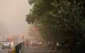 پیش بینی وزش باد شدید در تهران از ظهر امروز یکشنبه سایت 4s3.ir