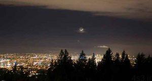 چرا ماه ما را تعقیب می کند؟ سایت 4s3.ir