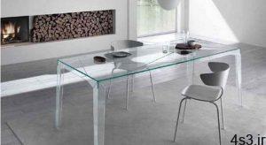 از بین بردن خط و خش میز شیشهای سایت 4s3.ir