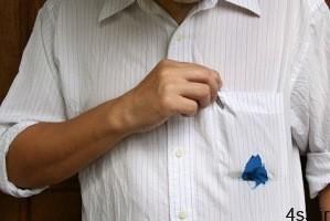 ترفندهای پاک کردن جوهر از روی لباس سایت 4s3.ir