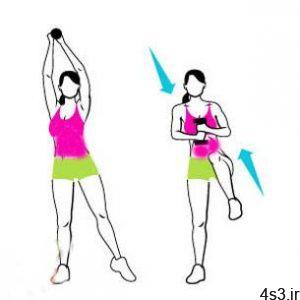 تقویت عضلات پهلو و آب کردن چربی های پهلو سایت 4s3.ir