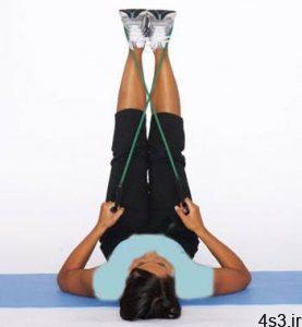 تمرین ورزشی برای تقویت عضلات خارج ران سایت 4s3.ir