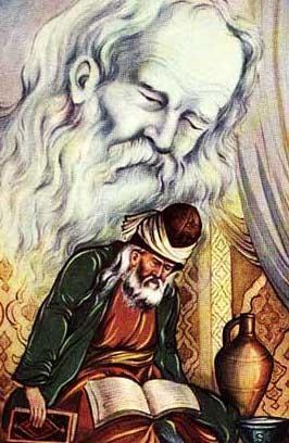 حکایتی از مولانا و شمس