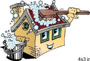 خانه تکانی در تابستان با مواد طبیعی سایت 4s3.ir