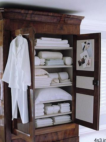 مرتب کردن کمد رختخواب - راهنمای مرتب کردن کمد رختخواب