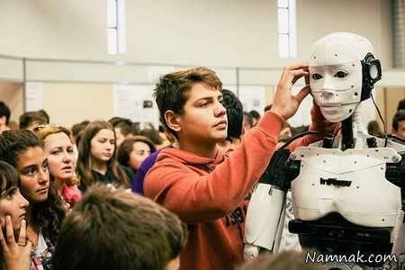 جوانترین سازنده ربات انسان نما + تصاویر سایت 4s3.ir