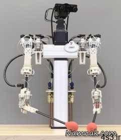 روبات های گارسون و آشپز + تصاویر سایت 4s3.ir
