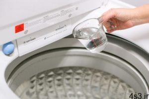 روش های شستن لباس ها با سرکه سایت 4s3.ir
