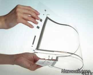 لمسی - صفحه لمسی شفاف،انقلابی در تکنولوژی گجت ها
