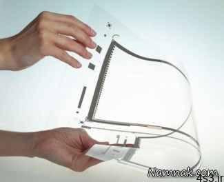 صفحه لمسی شفاف،انقلابی در تکنولوژی گجت ها سایت 4s3.ir