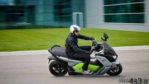 موتورسیکلت برقی جدید BMW + تصاویر سایت 4s3.ir