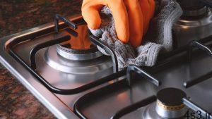 نحوه تمیز کردن اجاق گاز سایت 4s3.ir