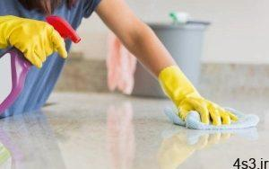 نحوه تمیز کردن سطوحی سنگی سایت 4s3.ir