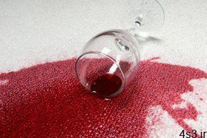 نحوه تمیز کردن شربت رنگی از روی فرش سفید سایت 4s3.ir