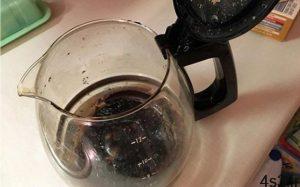نحوه تمیز کردن قهوه جوش سوخته سایت 4s3.ir