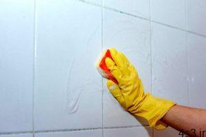 نحوه تمیز کردن کاشی های حمام سایت 4s3.ir