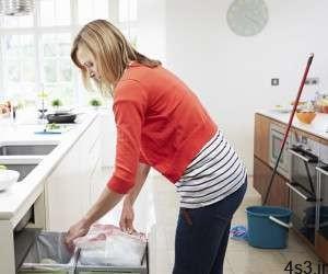 نکاتی برای تمیز کردن آشپزخانه سایت 4s3.ir
