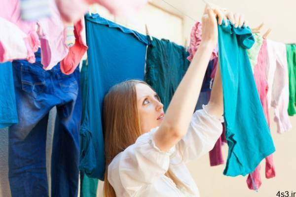 نکاتی برای خشک کردن انواع لباس سایت 4s3.ir